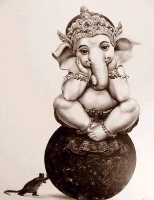 Rare Images of Lord Ganapathi