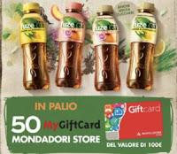 Concorso Fuzetea vinci 50 card Mondadori da 100€