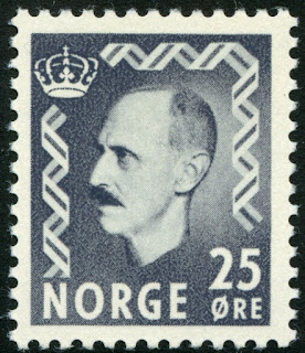 Norway 1951 King Haakon VII