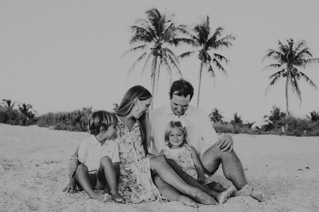 family beach pictures on Captiva Island