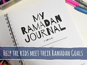 Help the kids this Ramadan with My Ramadan Journal