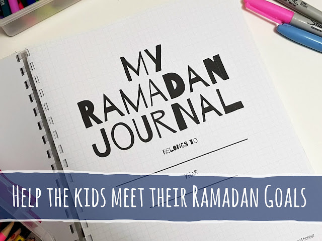 Help the kids this Ramadan with My Ramadan Journal