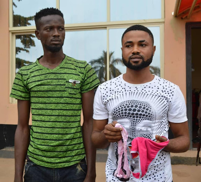 Yahoo boys arrested with pants in Akobo, ibadan