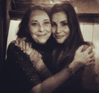 Picture of Carly Pope with her mom
