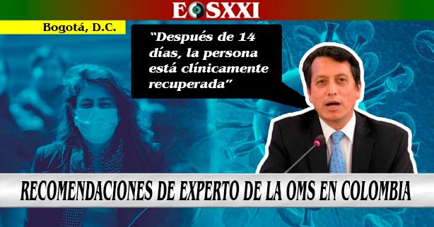 """""""Aceleración de contagios de Covid 19 se está presentando desde el núcleo familiar"""": experto"""