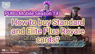 How to buy Standard and Elite Plus Royale cards