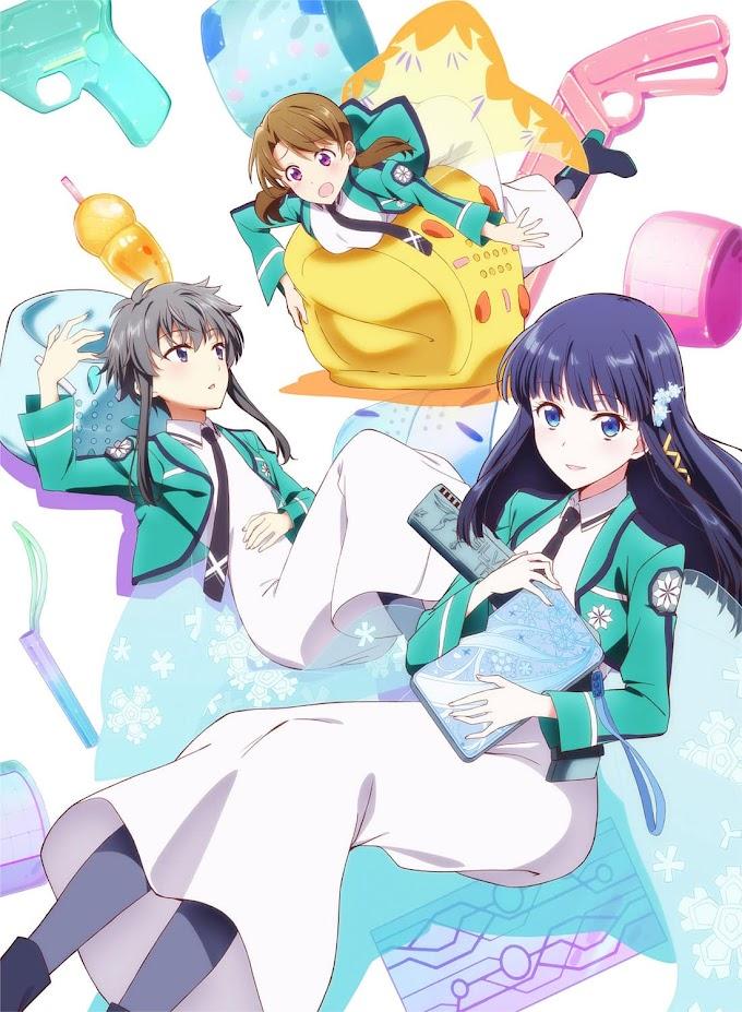 Revelado a data de estreia do anime Mahouka Koukou no Yuutousei