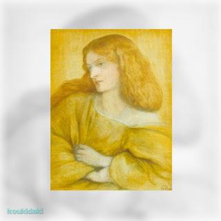 Woman in Yellow, Dante Gabriel Rossetti