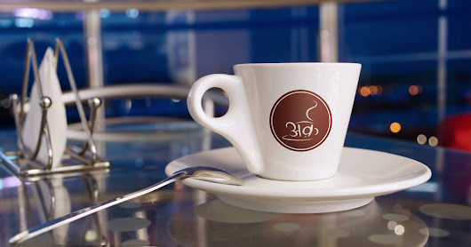 Arq Cafe Logo and Banner Design