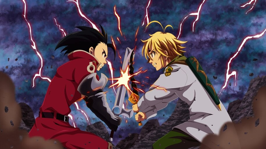 Meliodas vs Zeldris 4K Wallpaper #4.1270