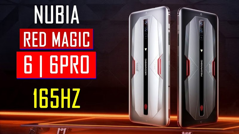 ফাইনালী লঞ্চ হল Red Magic 6, Red Magic 6 Pro  165Hz Refresh Rate এর ডিসপ্লে সাথে