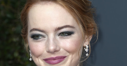 Emma Stone - The 75th Annual Golden Globe Awards