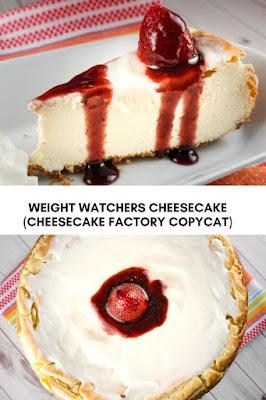 WEIGHT WATCHERS CHEESECAKE (CHEESECAKE FACTORY COPYCAT)