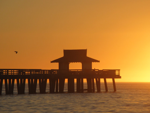 Atardecer, Caída del sol, Viejo Muelle, Naples, Florida, Elisa N, Blog de Viajes, Lifestyle, Travel