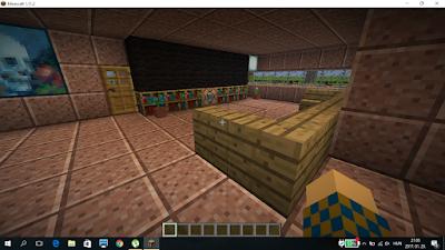 minecraft ház belűlről