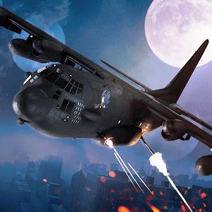 حرب الزومبي والاثارة Zombie Gunship Survival النسخة المهكرة