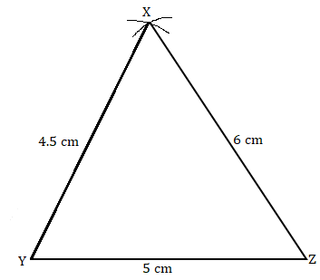 NCERT Solutions for Class 7 Maths Ch 10 Practical Geometry Exercise 10.2 Answer 1