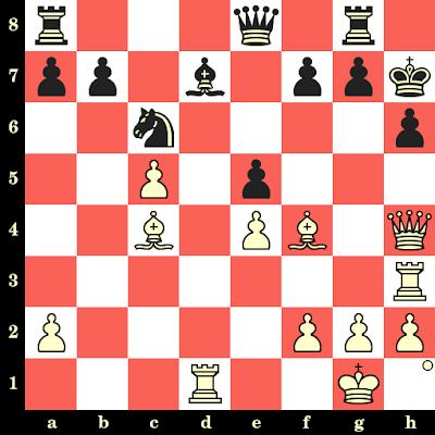 Les Blancs jouent et matent en 4 coups - Diego Valerga vs Ryuji Nakamura, Khanty Mansyisk, 2010