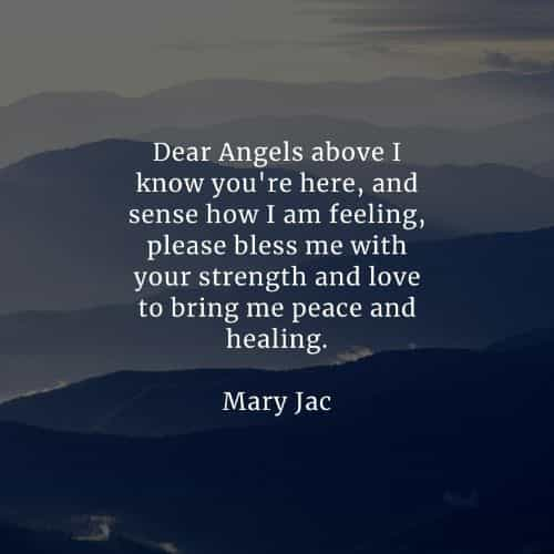 Angel quotes that'll inspire you and calms the heart