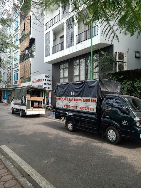 Dịch vụ chuyển nhà chuyển văn phòng giá rẻ chuyển cực nhanh