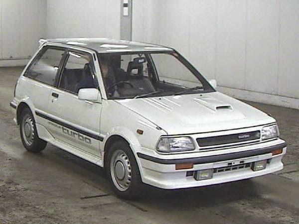 Daily Turismo: 5k: JDM Yo: 1987 Toyota Starlet Turbo S