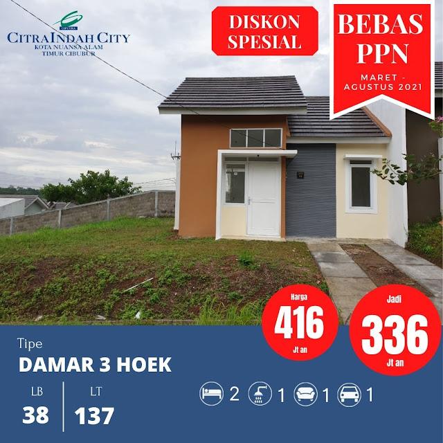 Rumah Murah Bebas PPN 2021 Citra Indah City - Ciputra Grup