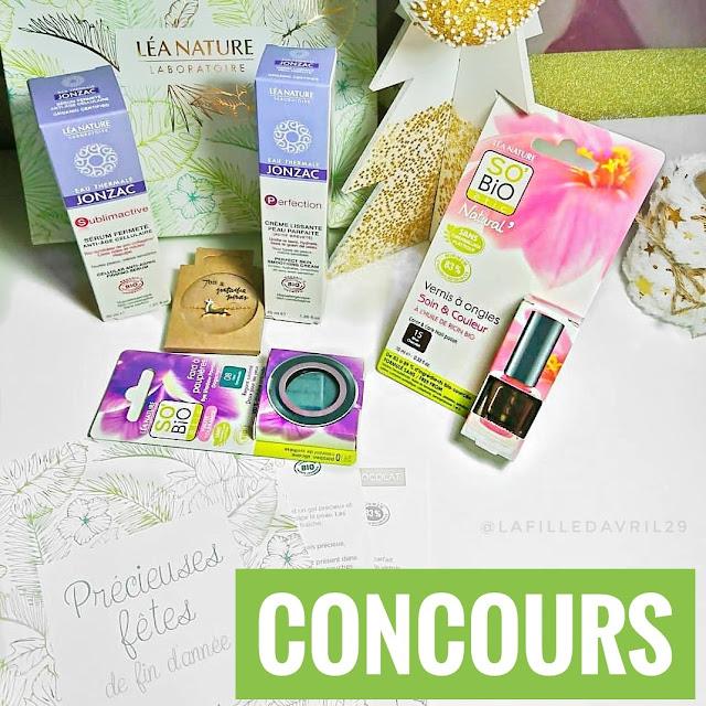 CONCOURS : LaFilleDavril X So'Bio Étic, gift bag Précieuses fêtes de fin d'année.