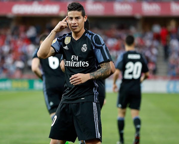 El Madrid hará caja con James