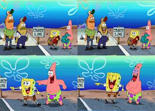 Polosan meme spongebob dan patrick 45 - spongebob dan patrick country line