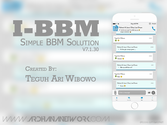 i-BBM V7.1.30 - Simple BBM Solution