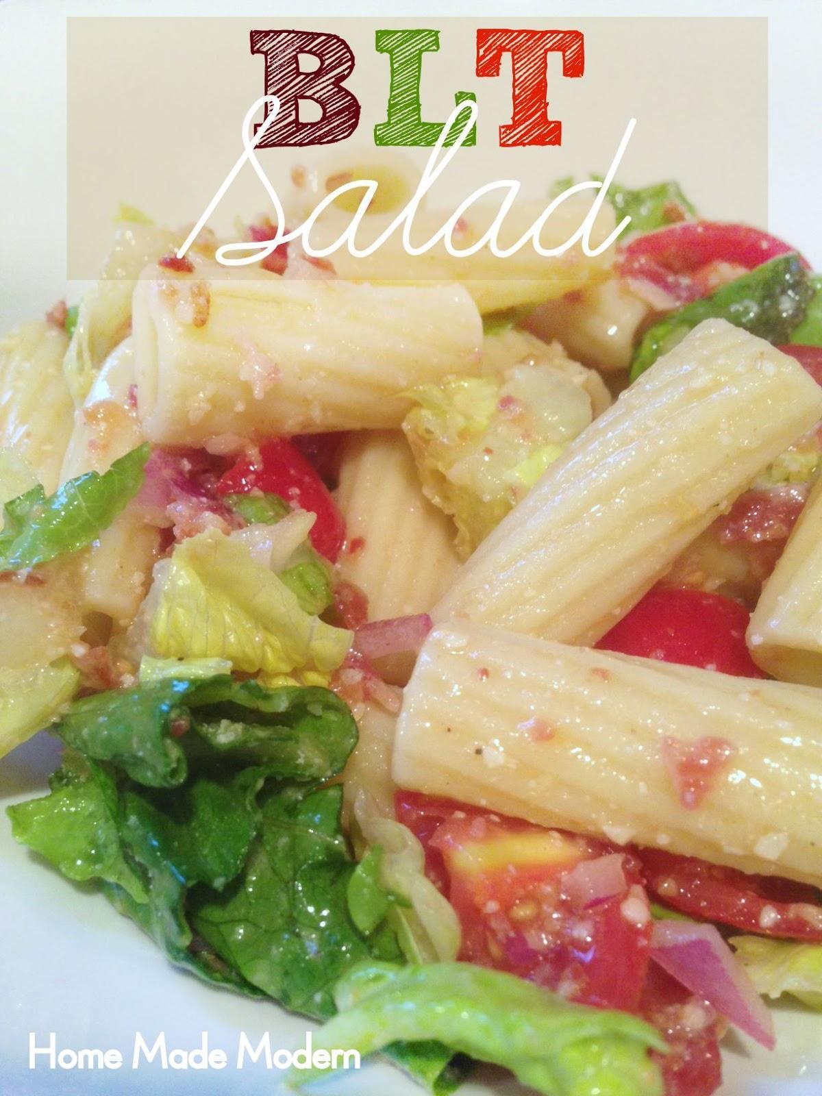 Home Made Modern: BLT Salad
