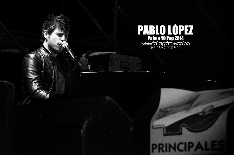 Pablo López en el Palma 40 Pop 2014. Héctor Falagán De Cabo | hfilms & photography.