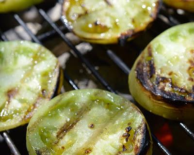 Salsa Verde de Tomates Grelhados (vegana)