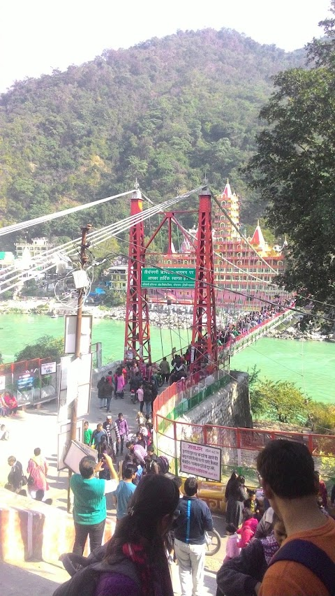 Rishikesh's Iconic place Laxaman Jhula  Closed For Public Movments