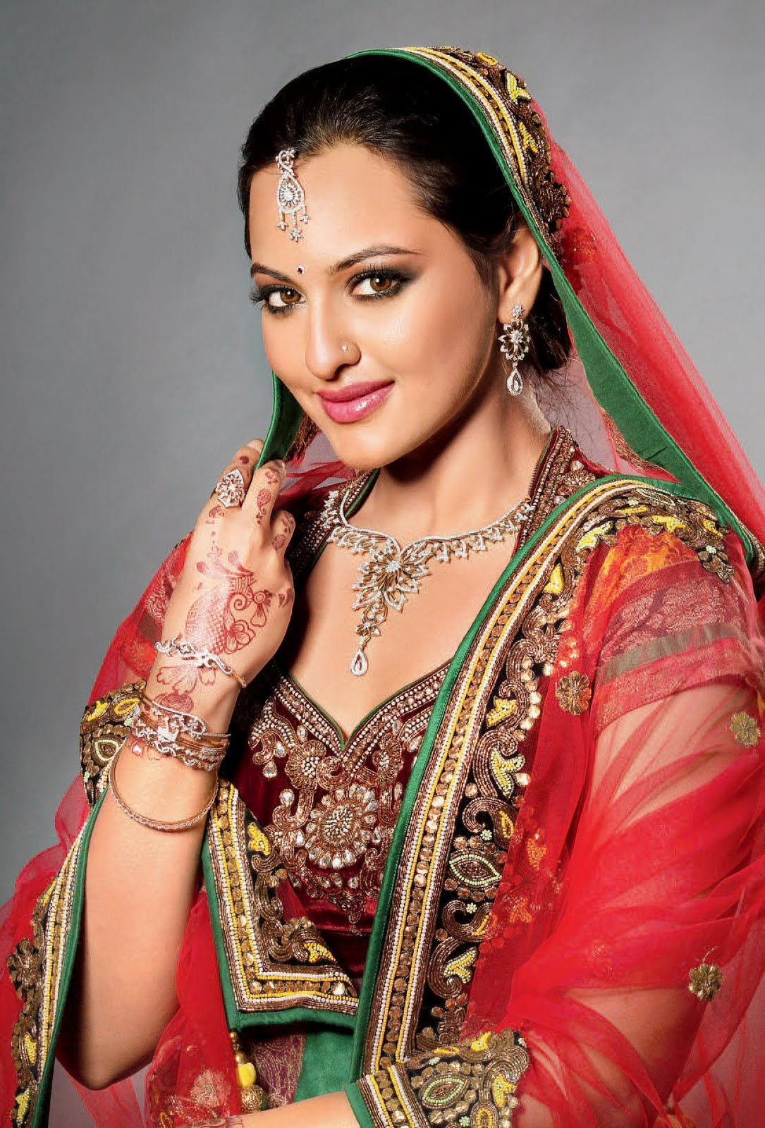 Sonakshi Sinha Rare  Beautiful Hd Wallpaper Collection -8433