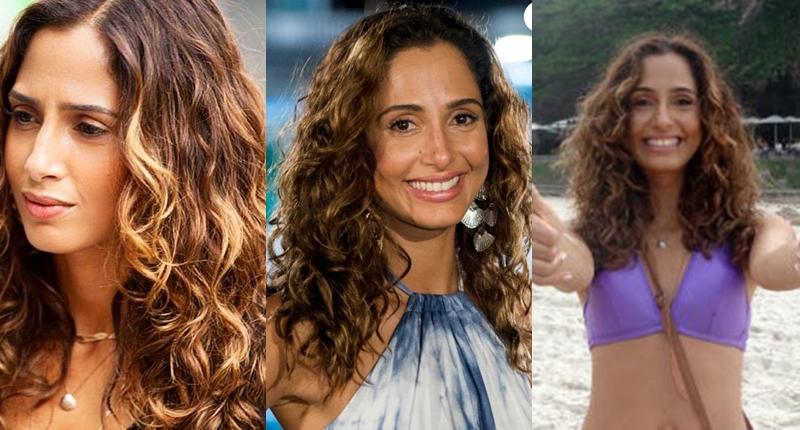Camila Pitanga cabelo natural