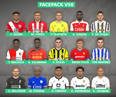 PES 2017 Facepack v58 by FR Facemaker