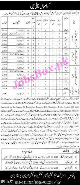 district-education-authority-layyah-jobs-2021-for-class-iv