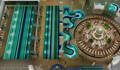 spa kapalı havuz planları