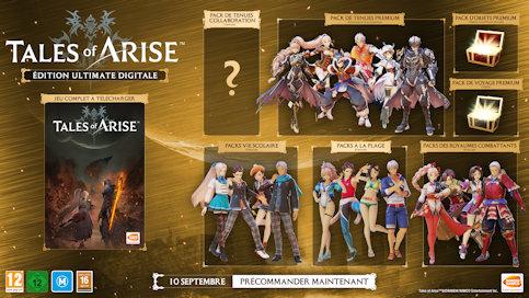 Edition Ultimate digitale de Tales of Arise