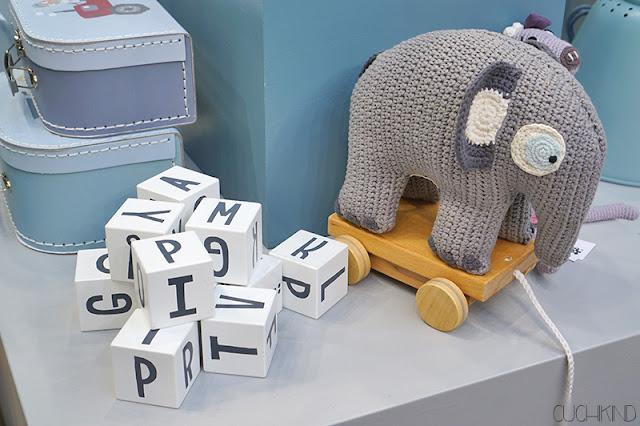 Häkelelefant von Sebra