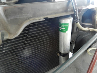 This Persona has replaced its receiver drier