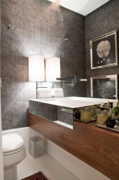 construindo minha casa clean lavabos decorados veja 30