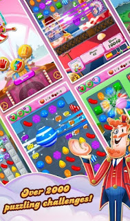 Candy crush saga scores 2000 puzzlling challenges