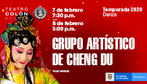 GRUPO ARTÍSTICO DE CHENG DU en Bogotá 2020