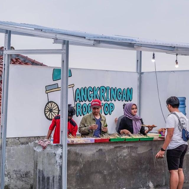 Angkringan Rooftop di Bogor Khas Yogyakarta