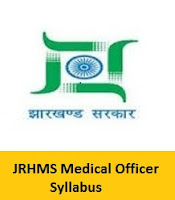 JRHMS Medical Officer Syllabus