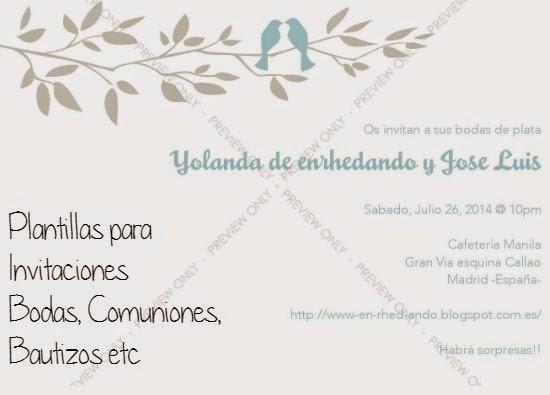 affordable gallery of plantillas de de bodas bautizos fiestas comuniones imprimir with de bautizo gratis para editar with invitacion de boda online gratis