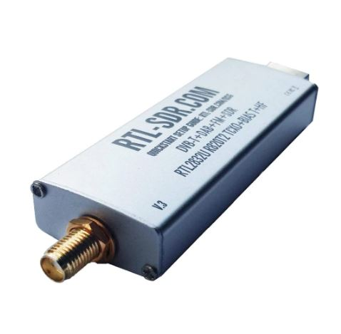 RTL-SDR Blog RTL SDR V3 R820T2 RTL2832U 1PPM TCXO SMA RTLSDR Software Defined Radio (Dongle Only)
