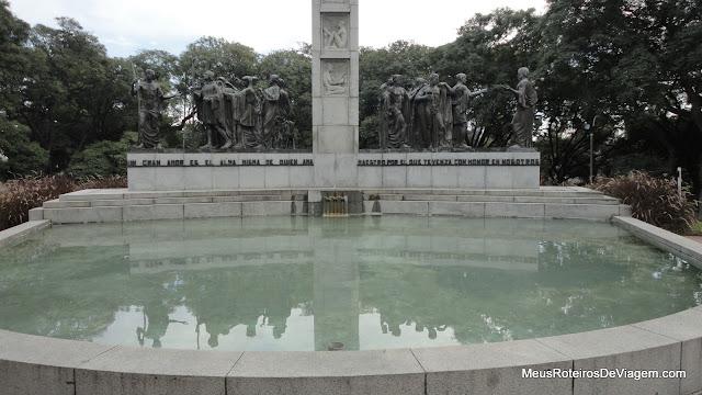 Monumento no Parque Rodó - Montevidéu, Uruguai